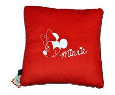 Disney 17610 - Cojín, diseño Minnie, 40 x 40 cm, color rojo
