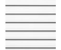 Persiana manual, metal, 7001 - Uni Weiß, M06
