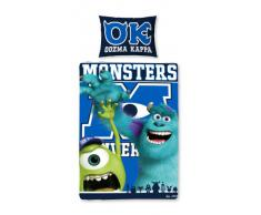 Disney Monster AG University Ropa de Cama Panel Individual 135x200