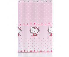 CTI 042775 - Cortina de poliéster, 140 x 240 cm, la razón: Hello Kitty Caroline, color: rosa