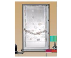 Homemaison HM69812712 - Persiana enrollable y estor, 100% poliéster de 60 x 160 cm, color crema