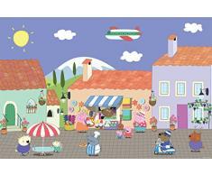 Peppa Pig Floor Puzzle & Colour 24 pcs 24pieza(s) - Rompecabezas (Rompecabezas para suelo, Dibujos, Preescolar, Peppa Pig, 3 año(s), Niño/niña)
