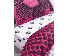 Catherine Lansfield fútbol Ricos Doble sábana Bajera, Polyester-Cotton, Multi, 190 x 135 x 0,4 cm