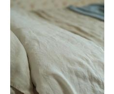 LinenMe 275 x 295 cm - Sábana (lino), color blanco
