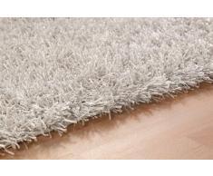 Alfombra ESPRIT Hochflor-alfombra Cool Glamour ESP-9001-01 blanco/ESPRIT alfombras, fibra sintética, blanco, 200cm x 300cm