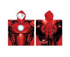 Poncho toalla Iron Man Vengadores Avengers Marvel microfibra