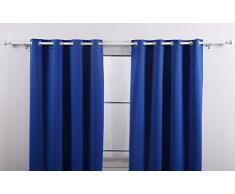 Cortinas Colores Neutros color Azul » Comprar online en Livingo