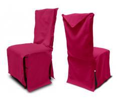 Soleil docre Panama - Funda de algodón Reciclado para Silla, Color Rosa