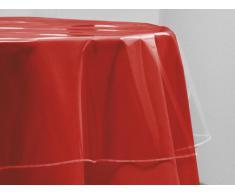 Mantel redondo transparente D.140 cm CRISTAL