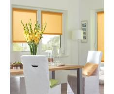 Gardinia 10012506 - Persiana enrollable y estor, 100% poliéster de 100 cm x 150 cm, color naranja