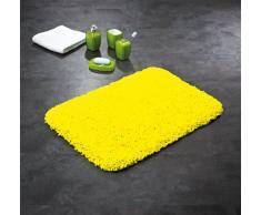 Ridder 7456040-350 Softy - Alfombra de baño (50 x 75 cm, 100 % microfibra de poliéster), color amarillo