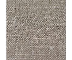Just Contempo Cortinas con forro de tejido de cesta, poliéster, marrón moca, 46 x 54 inches