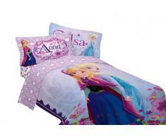Disney - Juego de ropa de cama (165,5 x 218 cm), diseño de Frozen