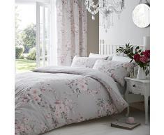 Catherine Lansfield Canterbury - Funda nórdica + funda de almohada para cama de 90 cm