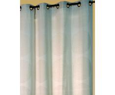 Homemaison 88462 - Persiana enrollable y estor, algodón y poliéster de 0,2 x 140 x 260 cm, color beige