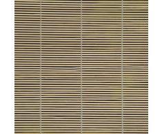 Persiana de bambú para ventana con tracción lateral - natural, 90cm x 240cm