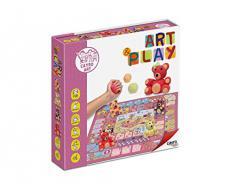 Juguetes Cayro - Juego Art Play, para Hacer Ositos con plastilina y Pinta tapete