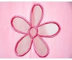 Cuentas Taftan Cortina bucles con flores de perlas Rose XA 145A 280A cm