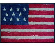 Felpudo/Felpudo/texto/Felpudo/Cassette/en alemán/esterilla/Con/para puerta sörnsen/Astra/Inglés/tapete/esterilla/resistente/texto/para calzado/Schuhabtreter/modelo Estados Unidos/América/Estados Unidos/barras y estrellas/la