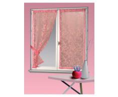 Homemaison HM692205604 - Persiana enrollable y estor, poliéster y algodón de 60 x 160 cm, color rosa