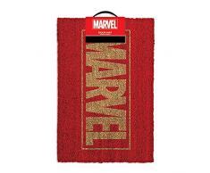 Marvel Logo Felpudo, fibra de coco), multicolor