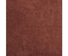 Topfinel juego 2 Fundas cojines Cama Sofas de Chenilla Algodón Lino duradero Almohadas Decorativa de color sólido Para Sala de Estar, sofás, camas, sillas Dormitorio Jardín Coche 50x50cm Escarlata