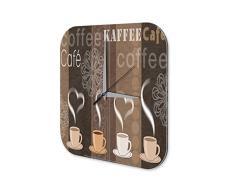 Reloj Pared Restaurante Cocinas Strassek las tazas de café Plexiglas