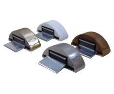 Adhesivo de color tope de puerta magnética de madera Blister 2 unidades