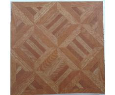 50 autoadhesivas para adehsive o con aspecto de madera baldosas para suelo de vinilo