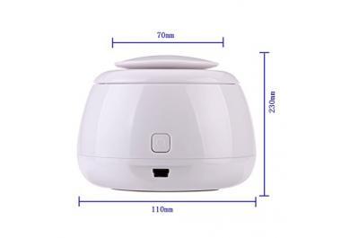 Andux zone Humidificador USB uso ambientador purificador de aire para la oficina, casa, coche, viajes JSQ-01