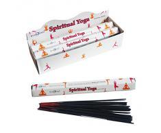 Stamford Spiritual Yoga - Varillas de incienso (6 paquetes de 20 varillas)