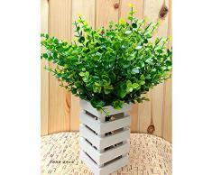 Decoración de Planta Artificial eucalipto adorno ideal para decoracion de jardin, cocina,fiestas, bodas... de OPEN BUY