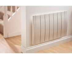 Haverland RC11W calentador de ambiente - Calefactor (230 V, 75 mm, LCD) Color blanco