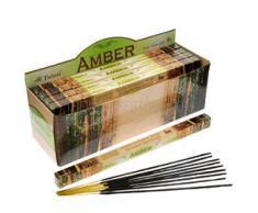 Tulasi - Varillas de incienso con aroma a camomila, lote de 25 paquetes