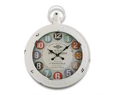 Versa 18190053 - Reloj de pared, 79 x 60 cm, color blanco