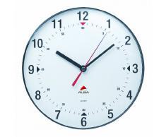 Alba Horbig Horclas - Reloj de pared circular (diámetro de 25 cm), color blanco
