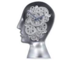 Invotis - Reloj de pie de 1 pieza, diseño de robot