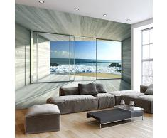 Fotomural 350x245 cm - 3 tres colores a elegir - Papel tejido-no tejido. Fotomurales - Papel pintado Más ver naturaleza Paisaje ventana c-A-0084-a-c