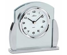 Atlanta 3038-19 - Reloj de mesa (analgico, cristal y metal)