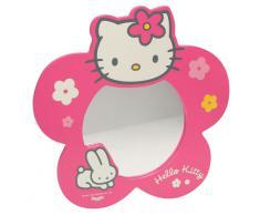 Hello Kitty - 711 174 - Muebles y Decoración - Espejo Caja Flor - quadricolor (Importado de Francia)