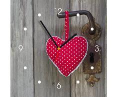 Reloj de pared de cocina - corazón