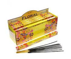Tulasi - Varillas de incienso con aroma floral, lote de 25 paquetes