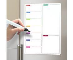Balvi - Shopping List pizarra magnética para nevera con rotulador