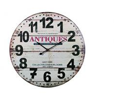 Reloj de pared XXL Vintage Antique 58 cm
