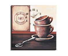 Reloj de pared Café Nego - Lounge relojo. 30x30cm D 04