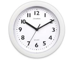 bold9 pulgadas reloj de pared para cocina 6 diferentes colores, Blanco, 22,9 cm
