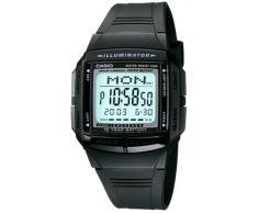 CASIO Collection DB-36-1AVEF - Reloj unisex de cuarzo, correa de resina color negro (con cronómetro, alarma, luz)