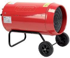 Draper 19752 - Calefacción de gas (tamaño: 30KW/102KBTU)