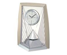 Seiko Reloj de mesa con péndulo Analog plástico plata qxn206s