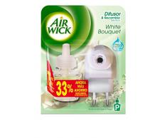 Air Wick Ambientador eléctrico completo White Bouquet - 19 ml